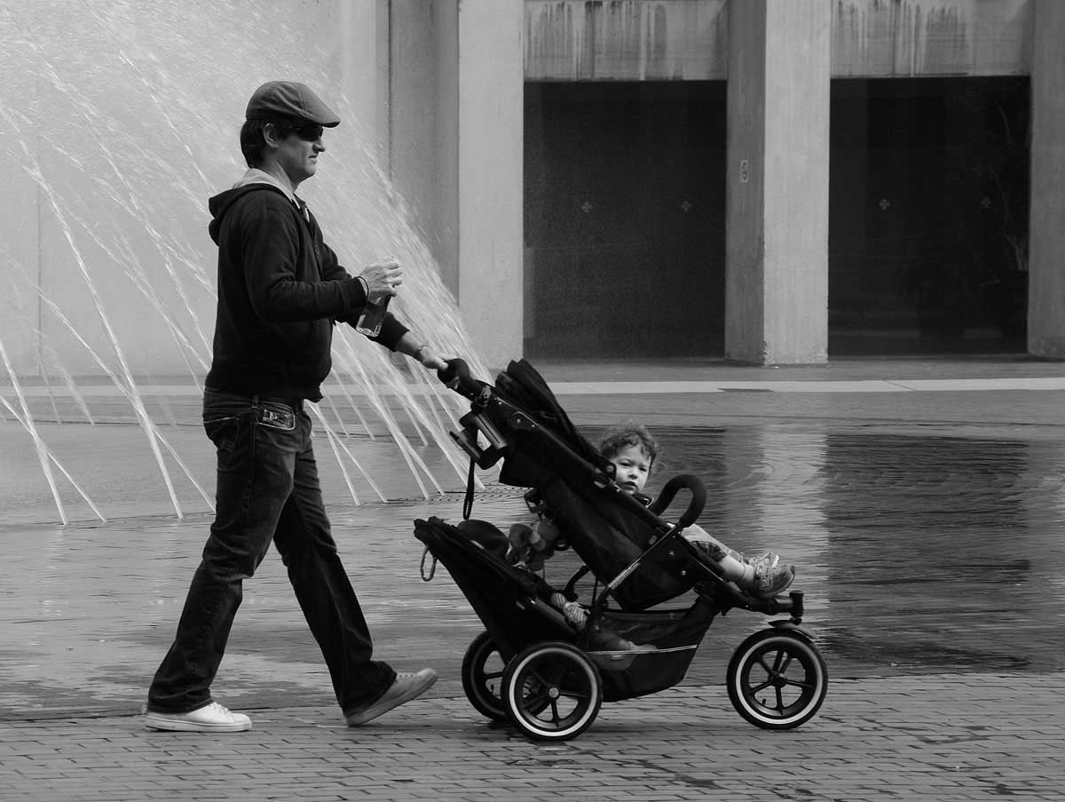 Pushchair in Boston